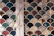 Japanese ceramic tile Photo:ICHOU