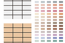 Japanese ceramic tile Photo:MAT series