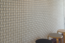 Japanese ceramic tile Photo:Steeber