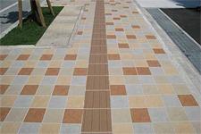 Japanese ceramic tile Photo:KAORA