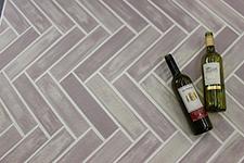 Japanese ceramic tile Photo:Floor Border