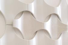 Japanese ceramic tile Photo:Cross