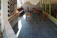 Japanese ceramic tile Photo:TSN