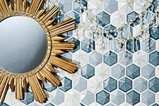 Japanese ceramic tile Photo:Dimensions