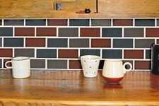 Japanese ceramic tile Photo:IRODORI