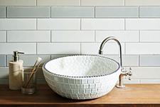 Japanese ceramic tile Photo:Suburbia