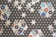 Japanese ceramic tile Photo:ASANOHA