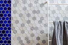 Japanese ceramic tile Photo:SANSUI