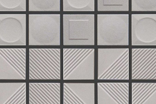 Japanese ceramic tile Photo:SHAPE OF THE SURFACE COLLECTION