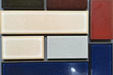 Japanese ceramic tile Photo:Nicho and Koguchi