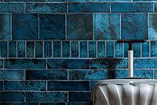 Japanese ceramic tile Photo:AIRI