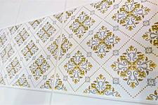 Japanese ceramic tile Photo:Palace