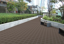 Japanese ceramic tile Photo:Rundy