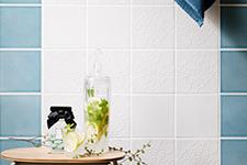 Japanese ceramic tile Photo:DECO SERIES