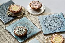 Japanese ceramic tile Photo:Mandala