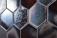 Japanese ceramic tile Photo:ROKKA-METAL