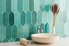 Japanese ceramic tile Photo:SUIREN
