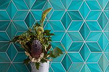 Japanese ceramic tile Photo:SHELLY